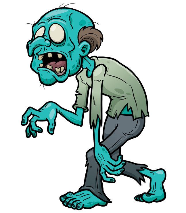 The Sleep Walking Zombie